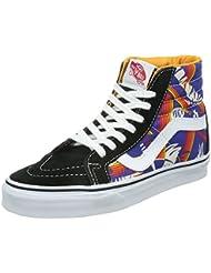 Vans Unisex Sk8-hi Reissue Tropical Fashion Sneakers Shoes Multi Color