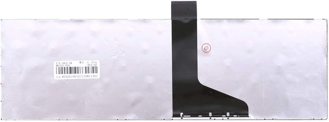 WJY Nuevo Espa/ñol Teclado port/átil para Toshiba Satellite L850 L850D P850 L855 L855D L870 L870D SP Teclado Negro