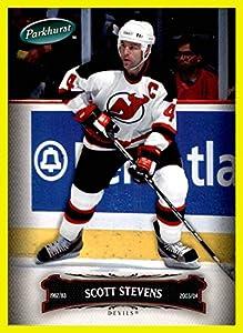 2006-07 Parkhurst #124 Scott Stevens NEW JERSEY DEVILS NHL NETWORK