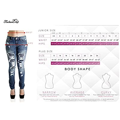 Diamante Style N039P – Plus Size, Mid Waist, Butt Lifting, Skinny Leg Jeans