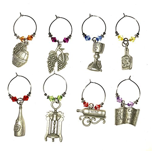 Review Wine charm rings for