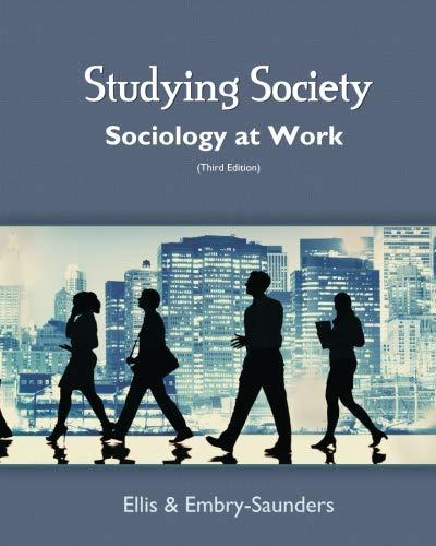 Studying Society: Sociology at Work