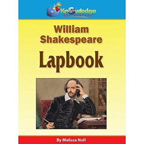 William Shakespeare Lapbook - PRINTED ebook