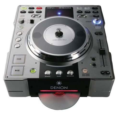 Dj Media Player - Denon DNS3500 DJ Tabletop CD and MP3 Player