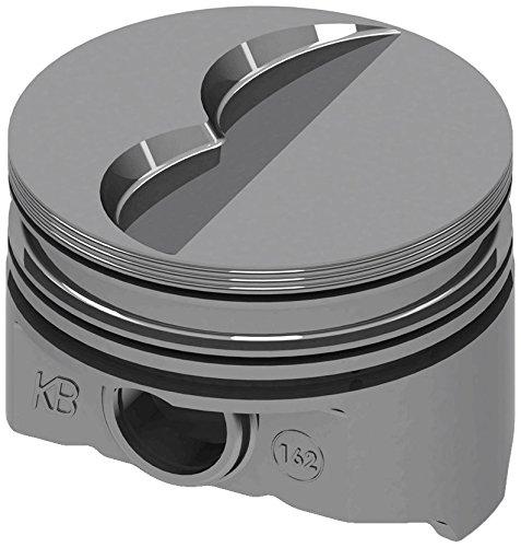 KB Performance Pistons KB162.040 BBM Flat Top Piston Set (4.290 Bore +5cc), 1 (1 Keith Black Pistons)