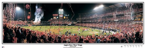 (MLB Anaheim Angels Edison Field 2002 World Series Stadium,