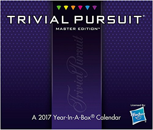 TRIVIAL PURSUIT: MASTER EDITION Year-In-A-Box Calendar (2017) ()