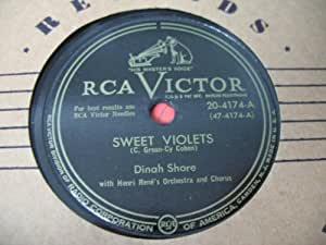Sweet Violets / If You Turn Me Down [78rpm Single]