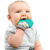 bblüv - Glüv - Original Silicone Baby Teething Mitten with Opposable Thumb (Aqua)