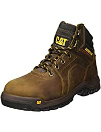 Mens Diffuse Steel Toe Brown Industrial Boot
