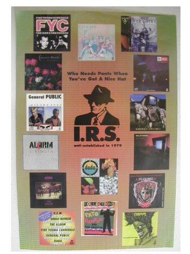 REM Go-gos Cramps Pato Banton Poster The Go Gos