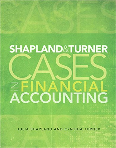 Turner Case (Shapland and Turner Cases in Financial Accounting)