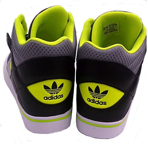 Adidas HARD COURT REVELATOR Schwarz Gelb Herren Sneakers Schuhe Neu