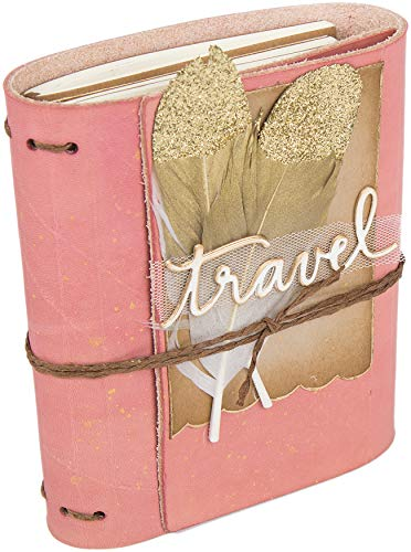Wrapped Journal (Sizzix ScoreBoards XL Die Eileen Hull - Wrapped Journal - 662816)
