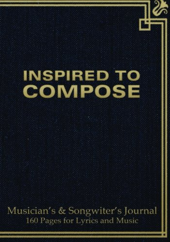 musician-s-and-songwriter-s-journal-160-pages-for-lyrics-music-manuscript-notebook-for-composition-and-songwriting-7-x10-blue-antique-cover-160-pages-ruled-page-on-left-8-staves-on-right