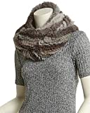 Jocelyn Womens Grey Infinity Scarf, Grey