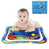 """VI AI Water Play Mat – Inflatable Baby Mat – Tummy Time Baby Mat – Water Pool Printed Play Mat – Splash Mat for Babies & Infants – Child Development Accessory – Fun & Entertaining – 20"""" x 26"""""""