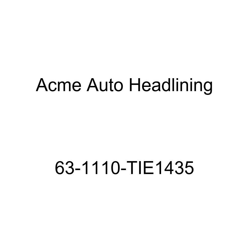 Buick Lesabre 2 Door Hardtop 6 Bow Acme Auto Headlining 63-1110-TIE1435 Tan Replacement Headliner