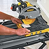 DEWALT Wet Tile Saw with Stand, 10-Inch