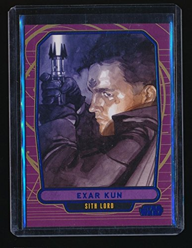 Exar Kun 2012 Star Wars Galactic Files Blue Foil  209 199 350