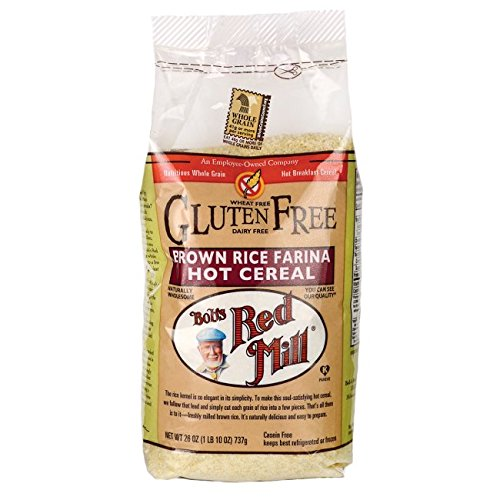 Bob's Red Mill Brown Rice Farina Hot Cereal 26 oz (737 g) Pkg (Rice Breakfast)