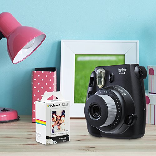 Polaroid PIF300 Instant Film Replacement - Designed for use with Fujifilm Instax Mini and PIC 300 Cameras (20 Sheets)