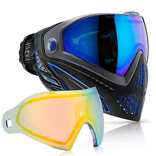 Dye i5 Paintball Goggle (Storm with Northern Lights Thermal Lens Combo) by Dye