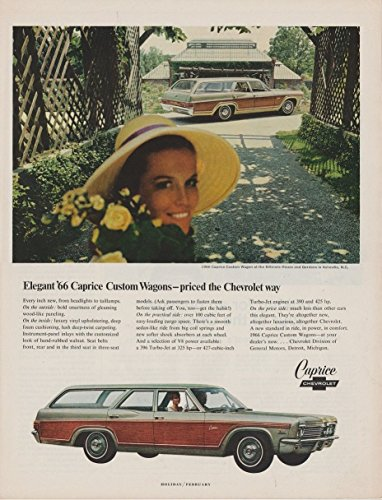 (1966 CHEVROLET CAPRICE CUSTOM WAGON