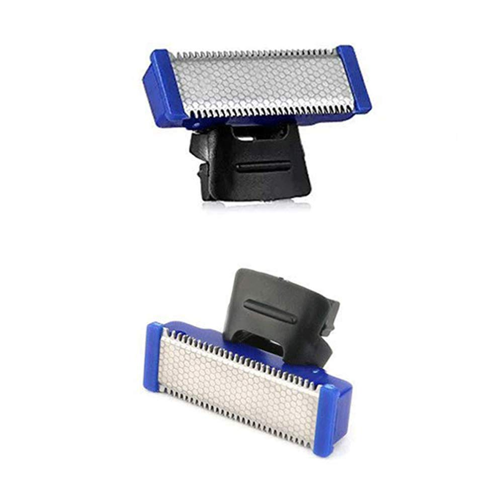 Replacement Head for Electric Shaver Cleaning Trimmer Head Solo Trimmer Micro Touches Replacement Cutter Head Hybrid Razors Blades (Shaver Head 2PCS)