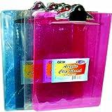 Acrylic Clip Board - 8.85'' x 12.2'' 48 pcs SKU# 1288233MA