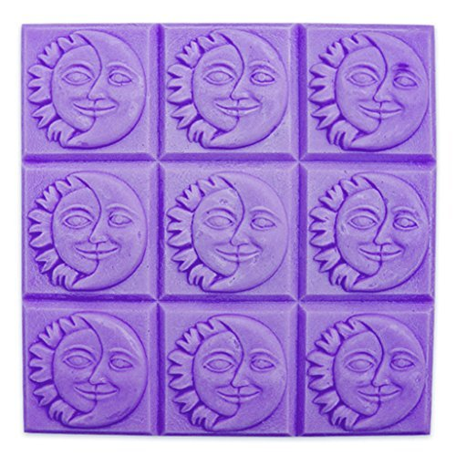 Milky Way Sun and Moon Soap Mold Tray - Melt and Pour - Cold Process - Clear PVC - Not Silicone - MW 116