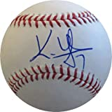 Kenny Lofton Autographed Baseball