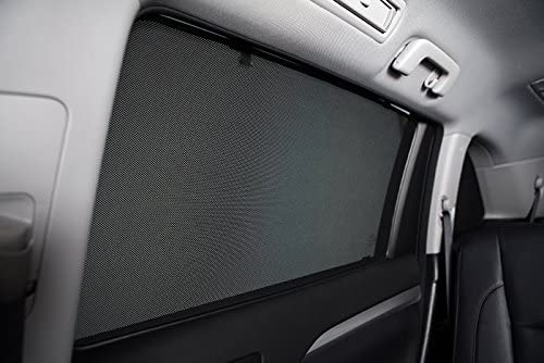 UVA//UVB Rays Protection Smartshade Flawless Magnetic Custom-Tailored Window Shades Infiniti-QX60 2013-2018 BACK