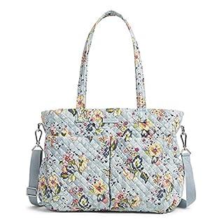 Vera Bradley Signature Cotton Ultimate Baby Diaper Bag, Floating Garden