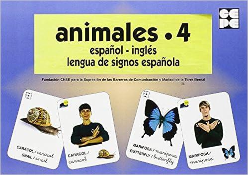 PDF Gratis Animales 4. Baraja Español-ingles. Lengua De Signos Española