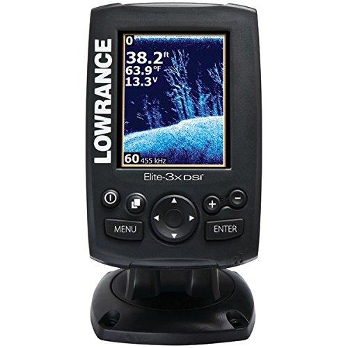 "Lowrance ELITE-3X DSI Color Sonar 3"" 83/200khz 455/800 Fishfinder Fish Finders And Other Electronics Pro-Motion Distributing - Direct"