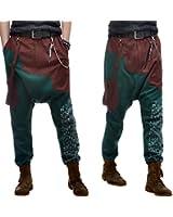 Ba23 Baggy Pantalon Sarouel Homme Créateur 34/36/38/40/42/44/46/48/50/52/54/56/58 (Q8)