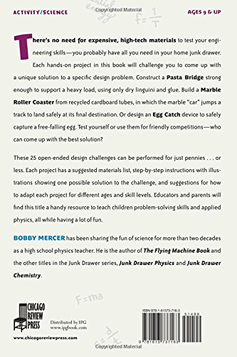 Junk Drawer Engineering: 25 Construction Challenges That Don't Cost a Thing (Junk Drawer Science) by Independent Publishers Group (Image #1)