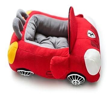 Rojo Porsche coche deportivo de camas para perro, mascotas ...