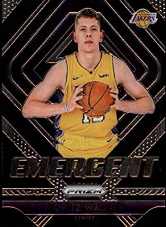 794bf6653d7 2018-19 Panini Prizm Emergent #25 Moritz Wagner Los Angeles Lakers RC Rookie  NBA