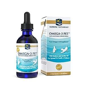 Nordic naturals omega 3 pet fish oil liquid for Liquid fish oil for dogs