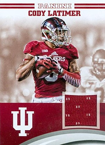 finest selection 18a6c de489 Cody Latimer player worn jersey patch football card (Indiana ...