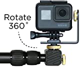 MicroJib - Pan + Tilt pole for GoPro with 360° rotation