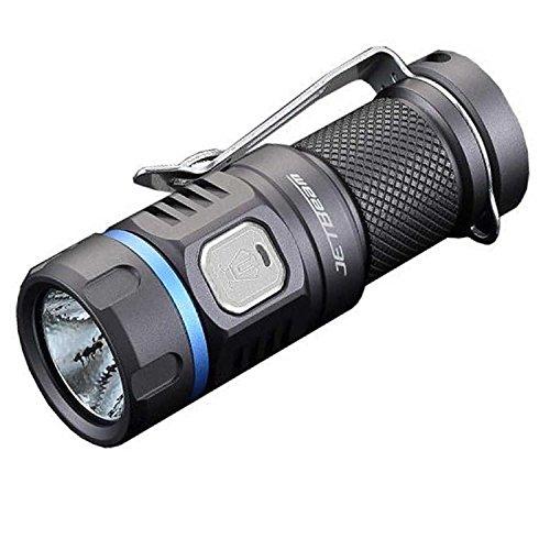 JETBeam 4016518 16340 Battery Rechargeable EDC Flashlight, - Jet Jetbeam