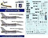 Afterburner Decals 1:48 Pacaf Wing Kings for Tamiya #AD48-014