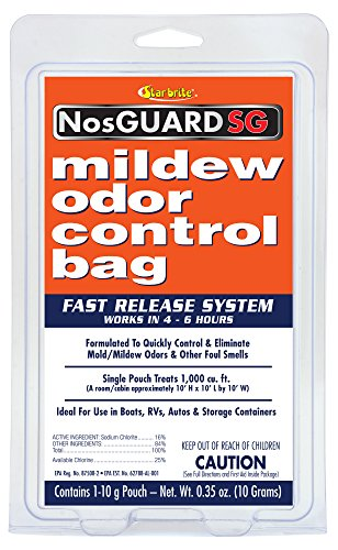 Star Brite Mildew Odor Control Bag - Fast Release System - Mildew Stain Removal