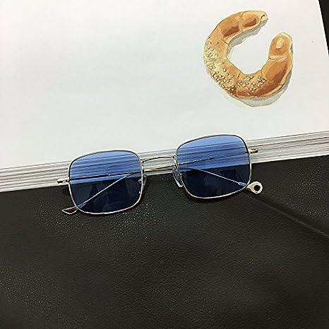 VVIIYJ Gafas de sol Ocean Tablet Gafas de sol cuadradas de ...