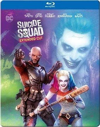 Suicide Squad Extended Cut Edizione: Stati Uniti Italia Blu-ray: Amazon.es: Cine y Series TV