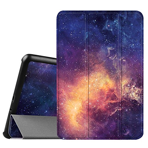 Fintie Samsung Galaxy Tab A 8.0 (2015) Slim Case, Ultra Lightweight Standing Cover Auto Sleep/Wake Compatible Galaxy Tab A 8.0 SM-T350/P350 2015 (NOT Fit 2017/2018 Version), Galaxy