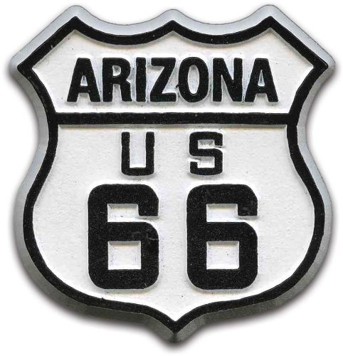 Magnet Arizona (Route 66 Arizona Road Sign Fridge Magnet)